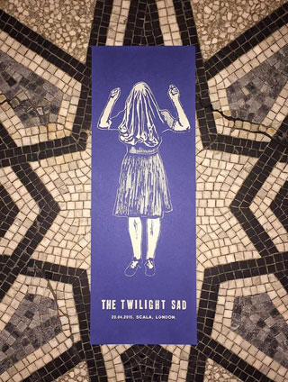 The Twilight Sad poster